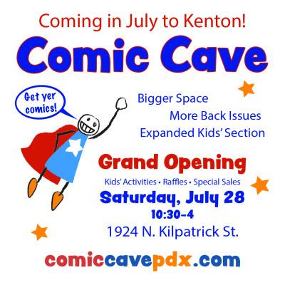 Comic Cave is moving!